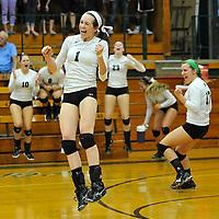 8.27.2013 Midview at Elyria Catholic Varsity Volleyball