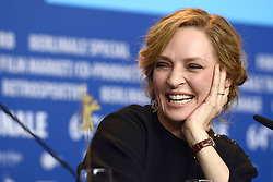 610377258<br /> Uma Thurman during the Nymphomaniac Volume I press conference at the 64th Berlin International Film Festival / Berlinale 2014, Berlin, Germany, Sunday, 9th February 2014. Picture by  imago / i-Images<br /> UK ONLY