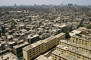 Apartments buildings and skyline, Cairo, Egypt.