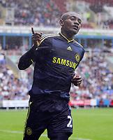 Fotball<br /> England<br /> Foto: Fotosports/Digitalsport<br /> NORWAY ONLY<br /> <br /> Reading FC vs Chelsea FC Pre-Season Friendly 01/08/09<br /> <br /> Salomon Kalou celebrates scoring Chelsea'a 1st goal.