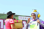 Purim holiday festival at Netanya, Israel