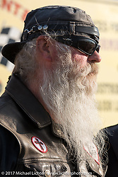 Dick Slider Gilmore at the drag racing finals at the Stugis Dragway during the Annual Sturgis Black Hills Motorcycle Rally. Sturgis, SD, USA. Monday August 7, 2017. Photography ©2017 Michael Lichter.