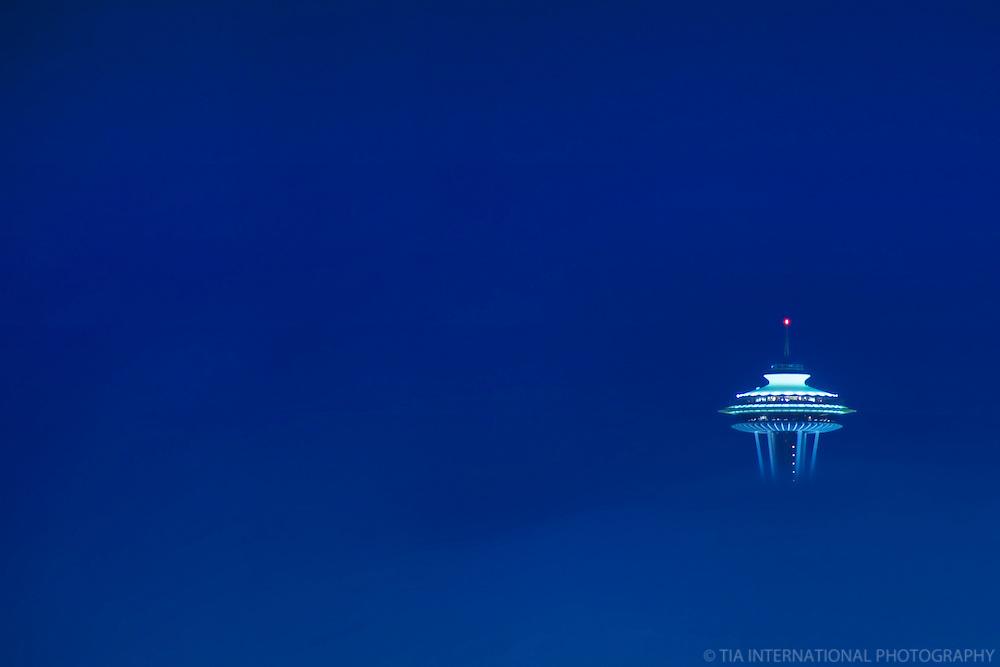 Space Needle, Blue Fog Fantasia