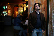 Portrait of Fado singer and manager Helder Moutinho. He is one of the young generation of fado singers and players that renewed the music scene in during the last years.