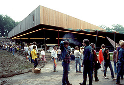 Merriweather Post Pavillion 20 June 1983 before the Grateful Dead Concert