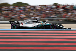 June 23, 2018 - Le Castellet, France - Motorsports: FIA Formula One World Championship 2018, Grand Prix of France, ..#44 Lewis Hamilton (GBR, Mercedes AMG Petronas Motorsport) (Credit Image: © Hoch Zwei via ZUMA Wire)