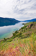 Morning on the shores of Kalamalka Lake in Vernon, British Columbia, Canada