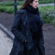 NLD/Amsterdam/20111221 - Uitvaart Olga Madsen, Isa Hoes