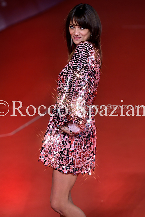 Asia Argento attends a photocall during the 13th Rome Film Fest at Auditorium Parco Della Musica on October 24, 2018 in Rome, Italy.