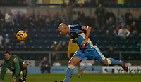 Photo: Alan Crowhurst.<br />Wycombe Wanderers v Rochdale. Coca Cola League 2.<br />10/12/2005. <br />Tommy Mooney scores his and Wycombe's second goal.