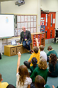 Images from the Primary school visits by childrens authors, Piers Torday and Chloe Inkpen, as part of of the Mainstreet Trading/Scottish Borders Council Authors in Schools programme. <br /> <br /> This is a joint project supported under the Education Scotland 'Creative Learning Network' programme.<br /> <br /> Contact kevin.greenfield@scotborders.gov.uk for further details and image permmisons.