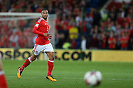 Jazz Richards of Wales in action. Wales v Austria , FIFA World Cup qualifier , European group D match at the Cardiff city Stadium in Cardiff , South Wales on Saturday 2nd September 2017. pic by Andrew Orchard, Andrew Orchard sports photography