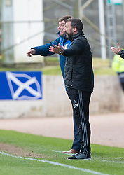 St Johnstone manager Tommy Wright and Aberdeen manager Derek McInnes . St Johnstone 1 v 2 Aberdeen. SPFL Ladbrokes Premiership game played 15/4/2017 at St Johnstone's home ground, McDiarmid Park.