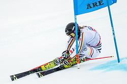 14.02.2019, Aare, SWE, FIS Weltmeisterschaften Ski Alpin, Riesenslalom, Damen, 1. Lauf, im Bild Marlene Schmotz (GER) // Marlene Schmotz of Germany in action during her 1st run of ladie's Giant Slalom of FIS Ski World Championships 2019. Aare, Sweden on 2019/02/14. EXPA Pictures © 2019, PhotoCredit: EXPA/ Johann Groder