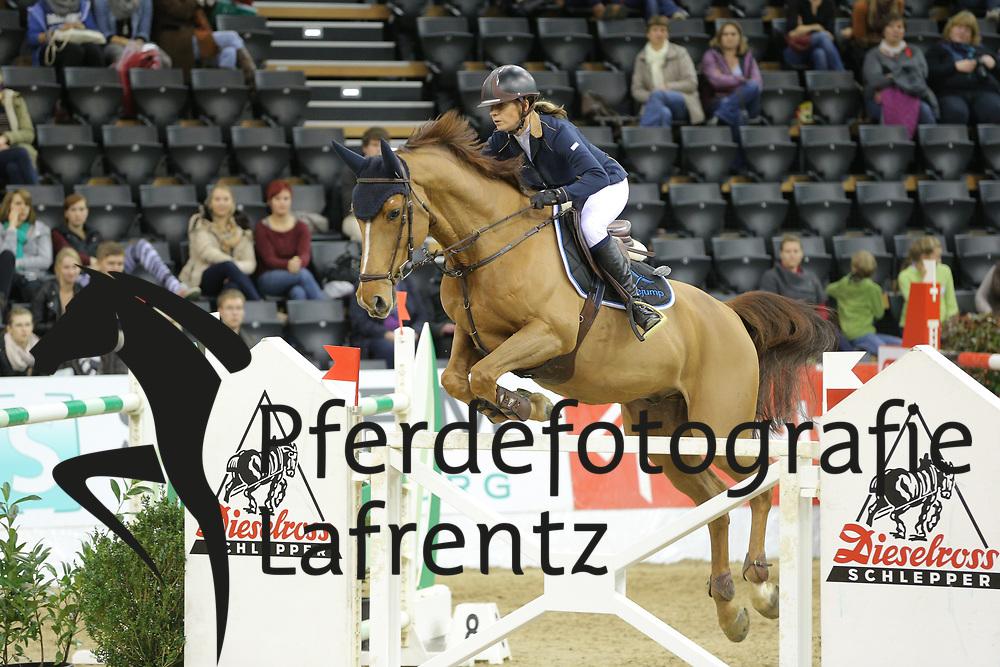 Offel, Katharina Lacontino<br /> Oldenburg - Oldenburger Pferdetage 2013<br /> Internationales Springen<br /> © www.sportfotos-lafrentz.de / Stefan Lafrentz