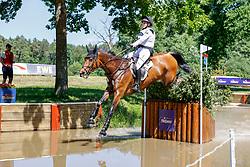 LUHMÜHLEN - Longines CCI5*-L/CCI4*-S Meßmer Trophy<br /> Deutsche Meisterschaften 2021<br /> <br /> LEUBE Sophie (GER), Jadore Moi<br /> Teilprüfung Gelände<br /> CCI4*-S Meßmer Trophy<br /> Cross-Country<br /> <br /> Luhmühlen, Turniergelände<br /> 19. June 2021<br /> © www.sportfotos-lafrentz.de/Stefan Lafrentz