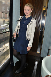 AMBER ATHERTON at the 'Ladies of Influence Lunch' held at Marcus, The Berkeley Hotel, London on 12th May 2014.