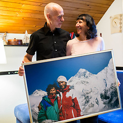 20201005: SLO, People - Andrej and Marija Stremfelj, first married couple on Mount Everest