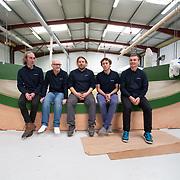 Visite du chantier du MAX 40 de Ian Lipinski / Crédit Mutuel