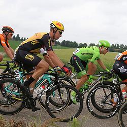 25-06-2016: Wielrennen: NK weg Profs: Ouddorp<br />OUDDORP (NED) wielrennen<br />(80) Johnny Hoogerland, (94) Sebastian Langeveld, (65) Bob Schoonbroodt