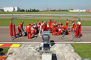 © Ferrari / LaPresse / Filippo Alfero<br /> Fiorano (MO), 23/04/2008<br /> motori<br /> Ferrari Club a Fiorano