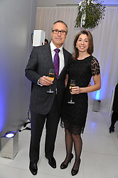 JON ZAMMETT and MELISSA STISTED at the pre party for the English National Ballet's Christmas performance of The Nutcracker held at the St.Martin's Lane Hotel, St.Martin's Lane, London on 14th December 2011.