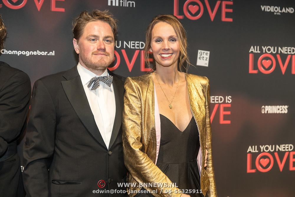 NLD/Amsterdam/20181126 - premiere All You Need Is Love, : Roosmarijn Leyten en .......