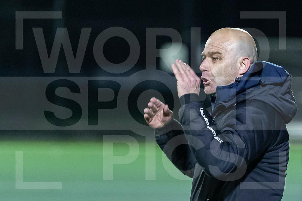 Rotterdam, Tulp Hoofdklasse Hockey Heren, Seizoen 2020-2021, 16-04-2021, Rotterdam - Den Bosch 0-3, Coach Eric Verboom (Den Bosch)<br /> COPYRIGHT WORLDSPORTPICS WILLEM VERNES