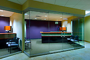 Interior offices at the C.W. Bill Young Building on the campus of the University of South Florida in Tampa, Florida.  Photographed for Baker Barrios Architects.