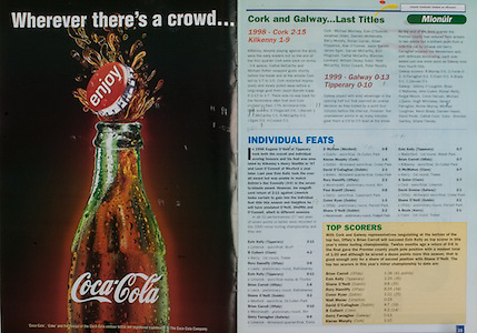 All Ireland Senior Hurling Championship - Final, .10.09.2000, 09.10.2000, 10th September 2000, .10092000AISHCF,.Senior Kilkenny v Offaly,.Minor Cork v Galway,.Kilkenny 5-15, Offaly 1-14, .Coca Cola,