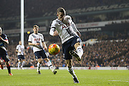 Toby Alderweireld of Tottenham Hotspur in action. Barclays Premier league match, Tottenham Hotspur v Newcastle Utd at White Hart Lane in London on Sunday 13th December 2015.<br /> pic by John Patrick Fletcher, Andrew Orchard sports photography.
