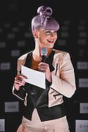 Kelly Osbourne during the Rebecca Minkoff S/S 2014 fashion show at The Theatre, Lincoln Center on September 06, 2013 in New York City.