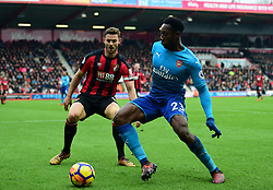 Danny Welbeck of Arsenal - Mandatory by-line: Alex James/JMP - 14/01/2018 - FOOTBALL - Vitality Stadium - Bournemouth, England - Bournemouth v Arsenal - Premier League