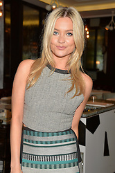 LAURA WHITMORE at the 'Ladies of Influence Lunch' held at Marcus, The Berkeley Hotel, London on 12th May 2014.
