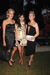 Left to right, LADY LOUISA COMPTON, CAROLINE SIEBER and OLIVIA BUCKINGHAM at a party to celebrate Le Touessrok a luxury resort in Mauritius, held at The Hempel, 31-35 Craven Hill Gardens, London W2 on 12th June 2007.<br /><br />NON EXCLUSIVE - WORLD RIGHTS