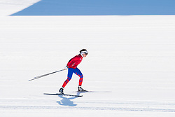 February 5, 2018 - Pyeongchang, SOUTH KOREA - 180205 An athlete of the Czech Republic during a training session on February 5, 2018 in Pyeongchang..Photo: Jon Olav Nesvold / BILDBYRN / kod JE / 160136 (Credit Image: © Jon Olav Nesvold/Bildbyran via ZUMA Press)