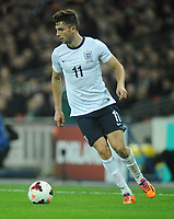 Football - 2013 International Friendly - England vs. Chile<br /> Debut boy Jay Rodriguez - England  at Wembley.<br /> <br /> COLORSPORT/ANDREW COWIE