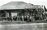 1890 Six Mile House located on NE corner of Sunset Blvd. & Gower St.