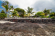 Aloha sign, Hookena, Big Island of Hawaii