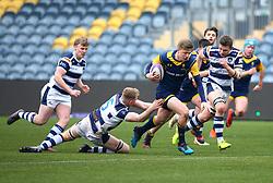 Noah Heward (Solihull School) of Worcester Warriors Under 18s - Mandatory by-line: Robbie Stephenson/JMP - 14/01/2018 - RUGBY - Sixways Stadium - Worcester, England - Worcester Warriors Under 18s v Yorkshire Carnegie Under 18s - Premiership Rugby U18 Academy