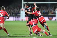 Mickael De marco  - 14.03.2015 - Lyon OU / Toulon -  20eme journee de Top 14<br /> Photo : Jean Paul Thomas  / Icon Sport<br /> <br />   *** Local Caption ***