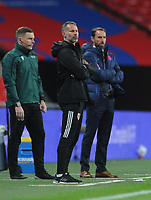 Football - 2019 / 2020 season - International Friendly - England vs Wales - Wembley Stadium.<br /> <br /> Wales Manager, Ryan Giggs and England Manager, Gareth Southgate<br /> <br /> COLORSPORT/ANDREW COWIE