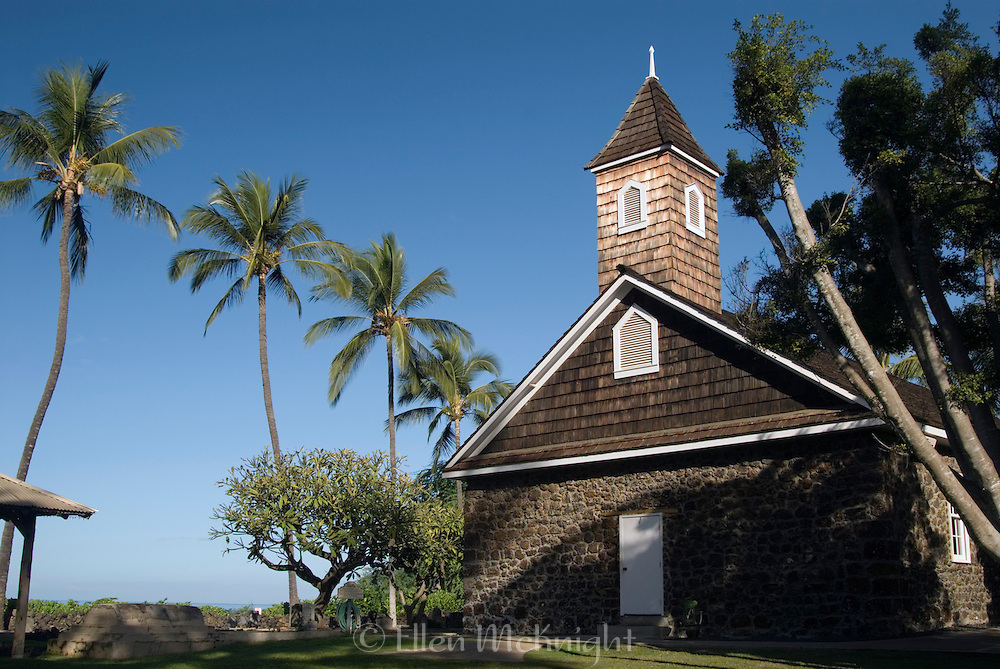 Makena, Maui. Founded in 1832.
