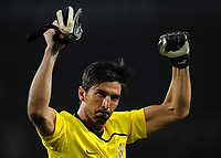 Fotball<br /> Italia<br /> Foto: Inside/Digitalsport<br /> NORWAY ONLY<br /> <br /> Gianluigi Buffon (Juventus)<br /> <br /> 17.09.2008<br /> UEFA Champions League<br /> Juventus v Zenit St Petersburg (1-0)