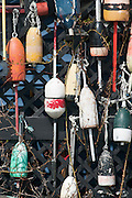 Fishing/Lobster Trap Buoys, Maine