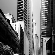Sydney, Australia (NSW), 2013: Exterior view of Aurora Plaza building, on Macquarie Street. Its official name is the RBS Tower building, by Renzo Piano  Arch.Photographs by Alejandro Sala   Visit Shop Images to purchase and download a digital file and explore other Alejandro-Sala images…