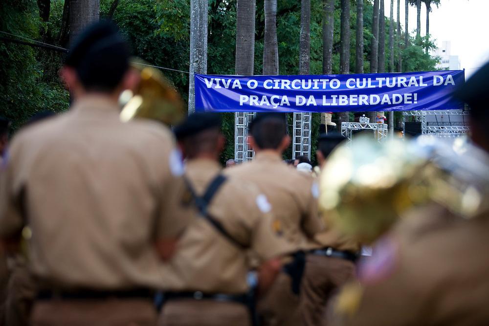Belo Horizonte_MG, Brasil...Inauguracao do Circuito Cultural da Praca da Liberdade em Belo Horizonte, Minas Gerais...Inauguration of the Cultural Circuit Liberdade square in Belo Horizonte, Minas Gerais...Foto: NIDIN SANCHES / NITRO