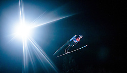 05.01.2016, Paul Ausserleitner Schanze, Bischofshofen, AUT, FIS Weltcup Ski Sprung, Vierschanzentournee, Qualifikation, im Bild Andreas Wellinger (GER) // Andreas Wellinger of Germany during his Qualification Jump for the Four Hills Tournament of FIS Ski Jumping World Cup at the Paul Ausserleitner Schanze, Bischofshofen, Austria on 2016/01/05. EXPA Pictures © 2016, PhotoCredit: EXPA/ JFK