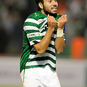 Bursaspor's Volkan SEN during their Turkish soccer super league match Bursaspor between Kayserispor at Ataturk Stadium in Bursa Turkey on Saturday, 01 May 2010. Photo by TURKPIX