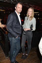 JADE PARFITT and JACK DYSON at the opening party of MODE nightclub, 12 Acklam Road, London on 4th April 2014.